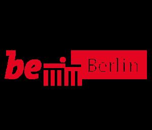 Das Logo der Stadt Berlin: Abgebildet sind die Buchstaben