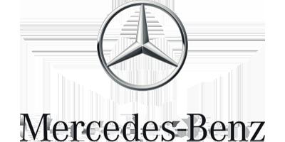 Mercedes-Benz Logo auf transparentem Hintergrund.